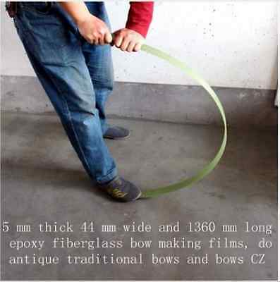 Bow Limbs Archery Material Supplies DIY Glass Fiber Epoxy Resin Making Recurve