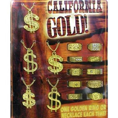 "California Gold in 1"" Capsules - 250 Count Vending Comes with DISPLAY Novelty"