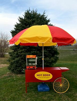 Paragon's Large Hot Dog Cart