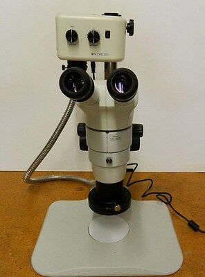 NEW Nikon SMZ-800 Stereozoom Microscope with Post stand, ring light, illuminator