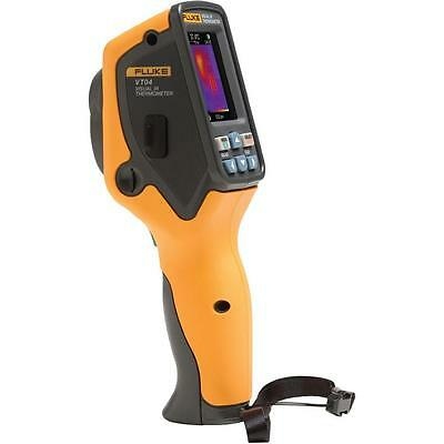 Fluke FLK-VT04 Visual Infrared Thermometer with Li-Ion Rechargeable Battery