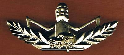 "Israel Border Police Outstanding Warrior Qualification ""gold"" Badge"