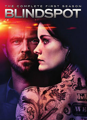 Blindspot: The Complete First Season 1 (DVD, 2016, 5-Disc Set) FREE SHIPPING