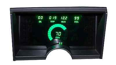 Chevy Truck DIGITAL DASH PANEL FOR 1992-1994 Gauges GMC GREEN LEDs!!!
