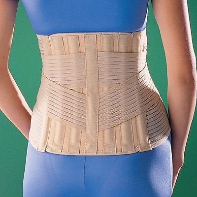 OPPO 2164 High BACK Support with STAYS Double Pull Spondylolysis Brace HIVD Wrap