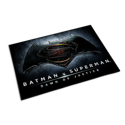 Batman vs Superman Teppich Logo