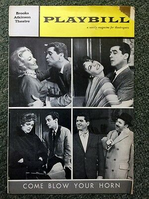 1962 Playbill Brooks Atkinson Theater Program *come Blow Your Horn* March Grey