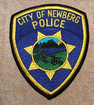 OR Newberg Oregon Police Patch