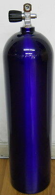 Aluminum Scuba Paintball Tank 80 cuft Catalina Purple