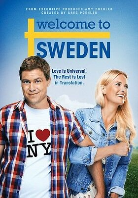 Welcome To Sweden: Complete First Season - 2 DISC SET (2015, DVD New)