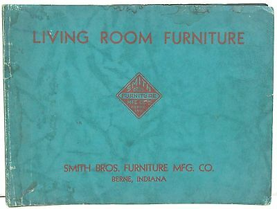 Smith Brothers Furniture Co of Berne IN – Lining Room Furniture Style Book c1940