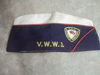 Vintage Estate Find Vww1 Veterans World War 1 Hat