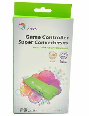 Brook USB Converter for XBox 360 / XBox360 to PS4 Controller Converter Adapter