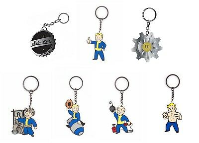 Fallout 4 Keyring Keychain Vault Boy nuke cola PS4 Xbox new Official