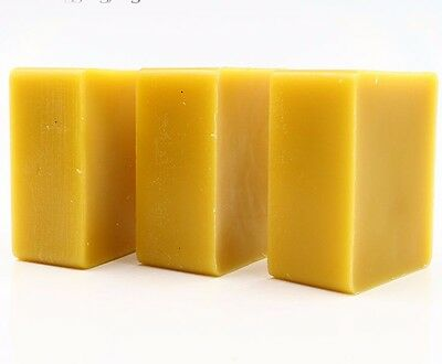 ORGANIC Beeswax Cosmetic Grade Filtered Natural Pure  Bees wax  bars 1.76oz