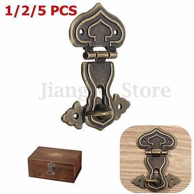 Antique Retro Hasp Pad Chest Lock Wooden Jewelry Box Latch Catch Decorative