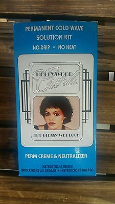HollyWood Curly Perm - The Glossy Wet Look - permanent cold wave solution kit