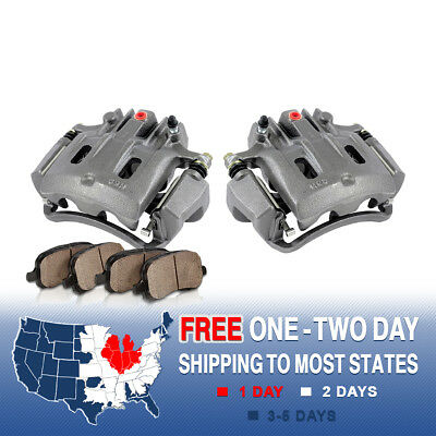 Rear OE Brake Calipers & Pads 2000 2001 2002 2003 2004 FORD EXCURSION F250 F350