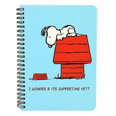 Peanuts Snoopy A5 Notebook
