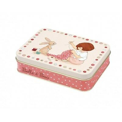 Belle & Boo  Vintage Style Sewing Tin Set (with Mini Sewing Kit)