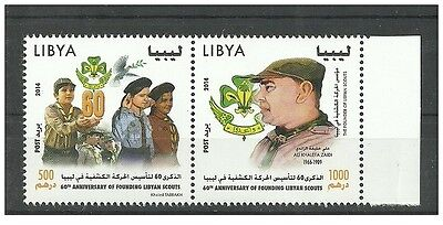 2014- Libya- The 60th Anniversary of founding of the Libyan Scouts