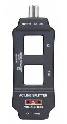 REED Instruments AC-006 AC Line Splitter with Voltage check function