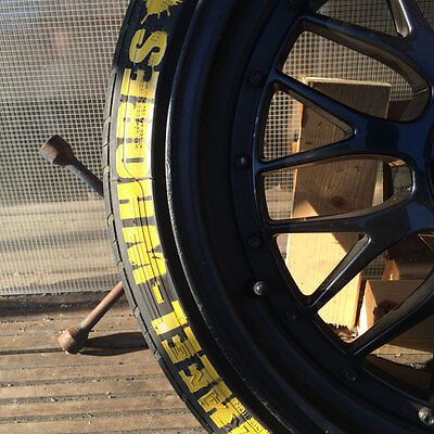 """Wheel-Whores Tyre Stencil Pack 15"""" Tire Bomb"""