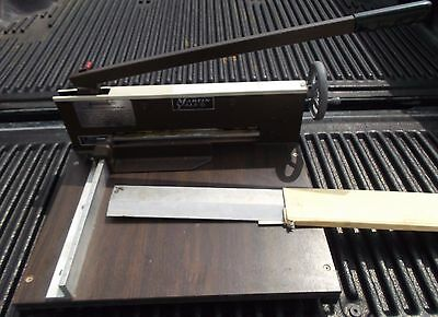 Martin Yale Paper Cutter Model 0-12 Commercail Paper Cutter With Extra Blade