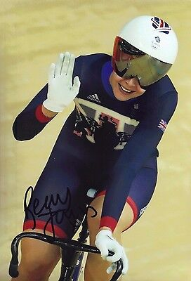 "Rebecca ""Becky"" James GENUINE Hand Signed 12X8 Photo OLYMPICS RIO 2016 (A)"