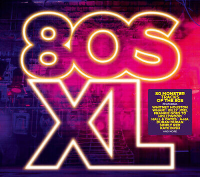 Various Artists : 80s XL CD 4 discs (2016) Incredible Value and Free Shipping!