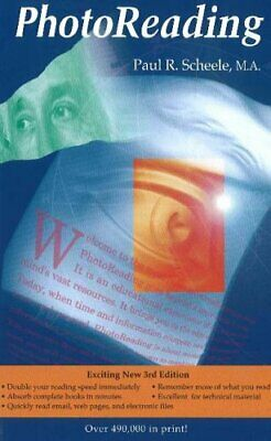 The Photoreading Whole Mind System by Scheele, Paul R. Paperback Book The Cheap