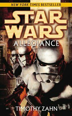 Star Wars: Allegiance by Zahn, Timothy Paperback Book The Cheap Fast Free Post