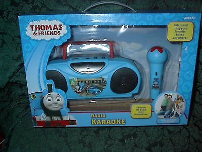 Thomas And Friends Radio Karaoke-New In Box