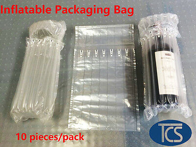 10 x Air column inflatable packaging bag for  wine bottles Bubble WineSkin glass