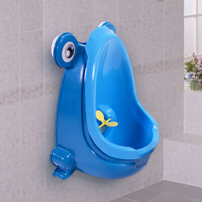 Baby Kid Children Potty Urinal Toilet Training Boy Bathroom Frog Pee Trainer