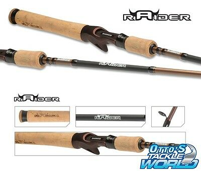 Shimano Raider 641 Cod Baitcast Rod 6'4 / 6-12kg /1 piece BRAND NEW at Otto's