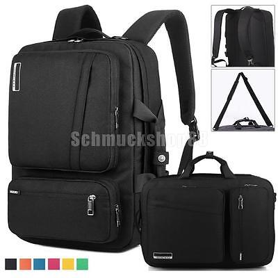 "NOTEBOOK LAPTOP BUSINESS RUCKSACK 17"" ZOLL LAPTOPTASCHE LAPTOPSCHUTZ schwarz"