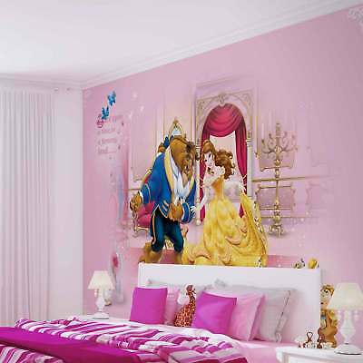 WALL MURAL PHOTO WALLPAPER XXL Disney Princesses Beauty Beast (592WS)