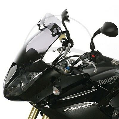 Triumph Tiger 1050 2007 MRA Adjustable Touring Screen Smoke Grey