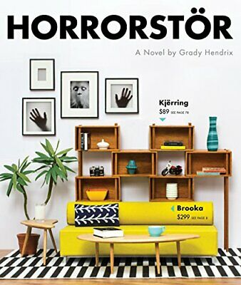 Horrorstor by Grady Hendrix Book The Cheap Fast Free Post