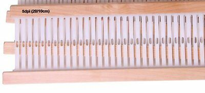 "10"" Ashford 5.0 Heddle Reed for Sampleit Rigid Heddle Loom Bulky, Novelty Yarns!"