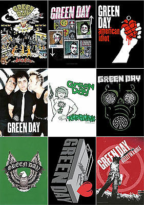 Green Day Poster American Idiot Grenade Dookie band logo official Textile Flag