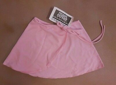 NWT Main Street Dance Ballet Wrap Skirt Crepe Many Color Choices Adult Child