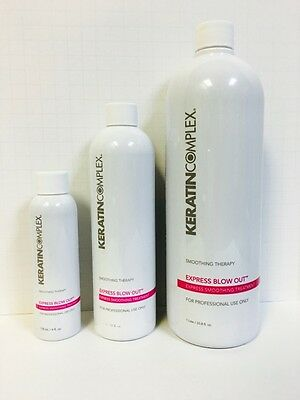 Keratin Complex Smoothing Therapy Express Blowout Treatment - You Choose Size!