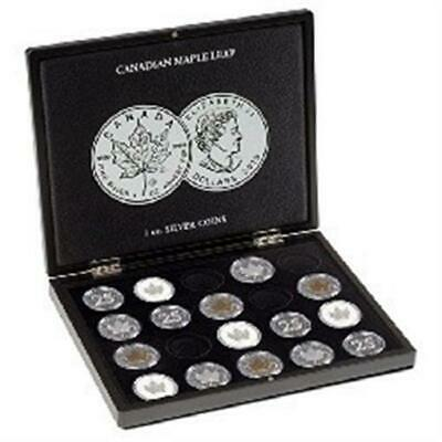 Lighthouse Presentation Case For 40 Canadian Maple Leaf Silver Dollars Coins