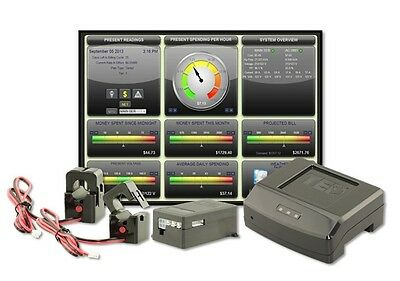 The Energy Detective TED Pro Home Real-time in-home Electricity Monitor.