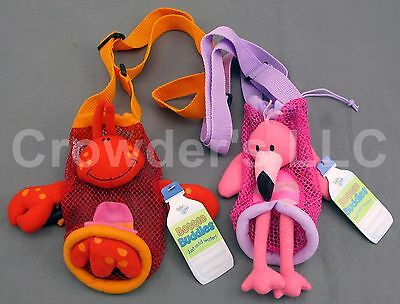 Lobster & Flamingo Bottle Buddy by Stephen Joseph Gifts Water Bottle Holder