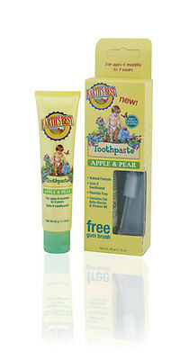 Jason Earths Best Apple and Pear Toothpaste 45g