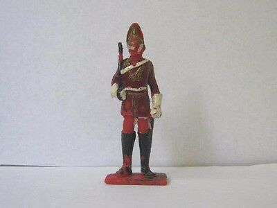 1 x CHERILEA 1960's BRITISH LIFE GUARD ....  PLASTIC 1/32 TOY SOLDIER to clear.