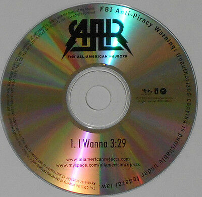 All American Rejects - I Wanna (3:29) - 2009 Promo CD Single